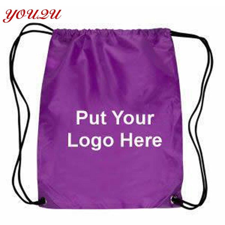 Bolsas de Cordão Bolsa de Cordão de Criança Logotipo Personalizado Mochila Próprio