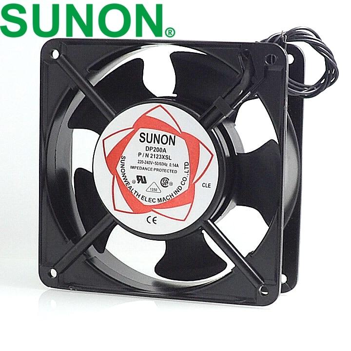 new cabinet cooling fan DP200A P/N 2123XSL  220V Axial Fans 120*120*38mm delta new ffr1212dhe 12038 12cm super fan 12v 6 3a car booster fan violence 120 120 38mm