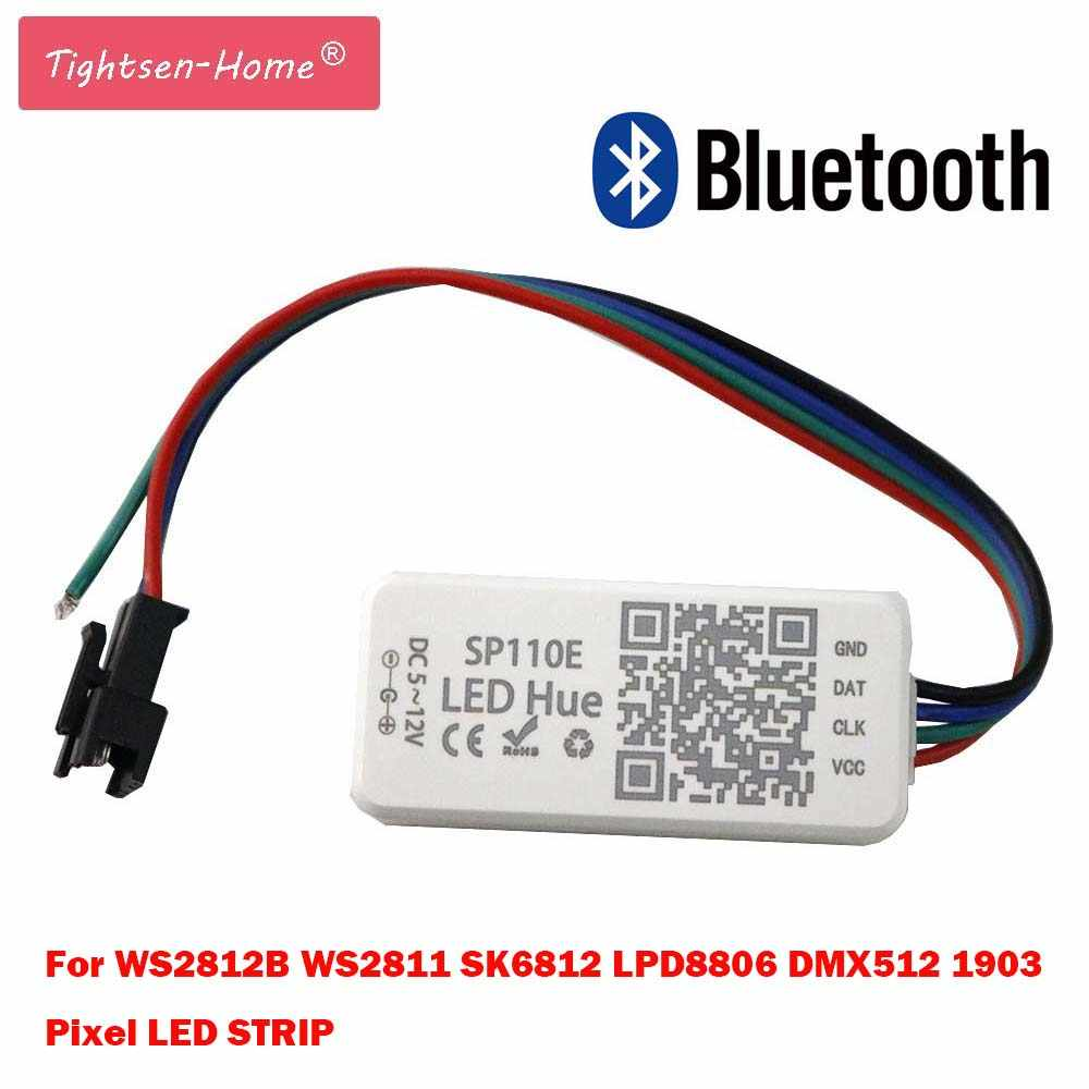 Detail Feedback Questions About Sp110e Bluetooth Controller Pixel Led Flashlight Schematic Application Light Strip By Smart Phone App For Ws2812b Sk6812 Lpd8806 Dmx512