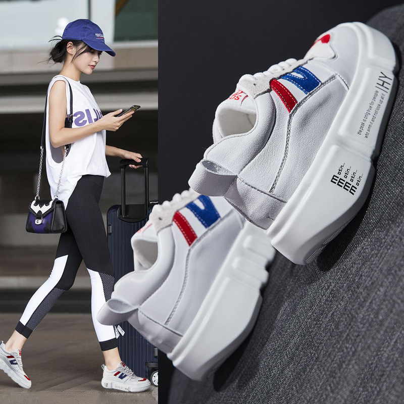 MYCORON/Новинка 2018 г. Роскошные дизайнерские женские сапоги на высоком каблуке кроссовки Femme толстая подошва обувь для женщин клин Schoenen Vrouw