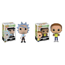 Funko POP Rick and Morty 10CM action Figure Collection PVC Model Toy for kids christmas gift(China)