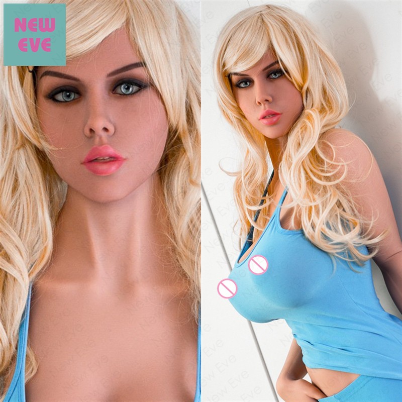 170cm 5 58ft Full Silicone Adult Sex Doll Blonde Beauty with Medium Breast Milf Love Toy
