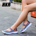 HKR 2017 Summer women flat sandals Shoes women Woven shoes Flat Shoes flip flops women multi colors sandals female shoes 1687