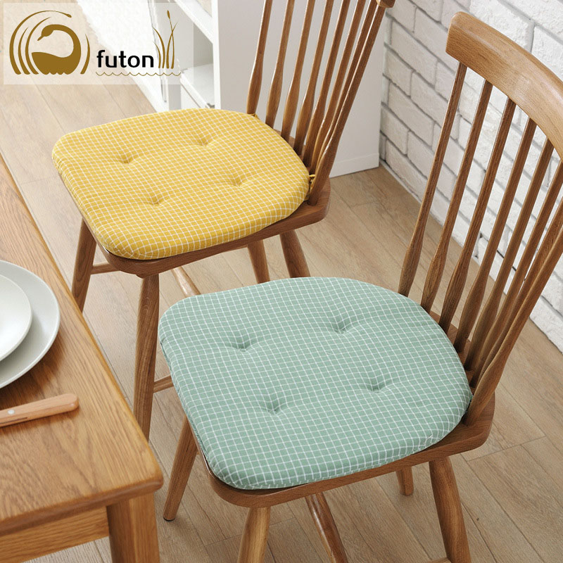 Futon Soft Home Dinning Room Square Cotton Seat Cushion Chair Pad With Lacing