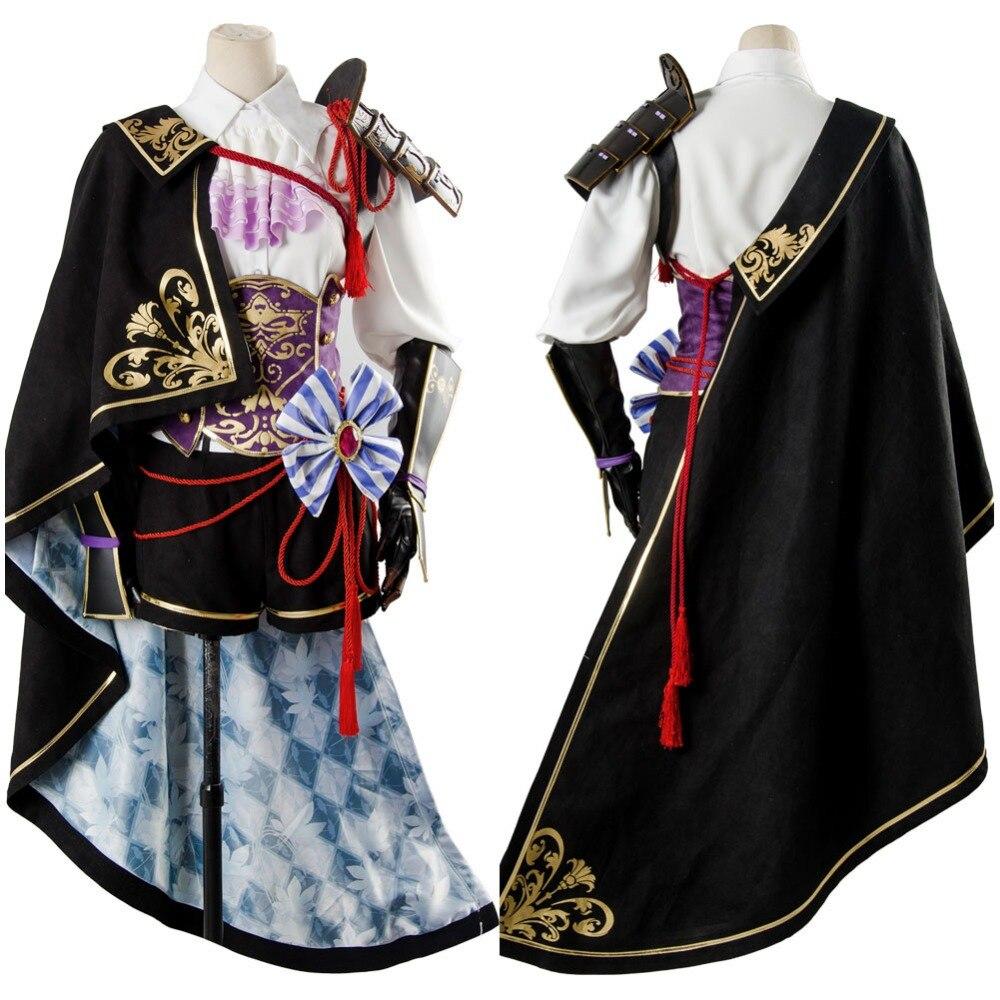 Cosplay Costume Sengoku Night Blood Senbura Ranmanru Mori Cosplay Costume Full Sets Halloween