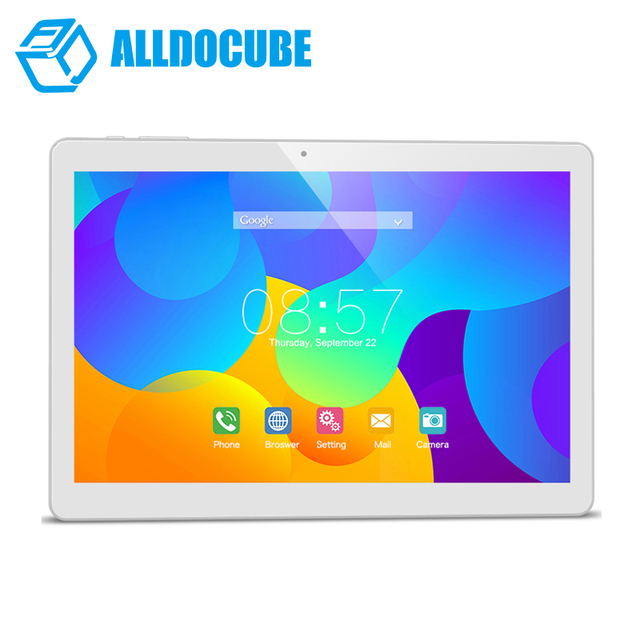Alldocube T10 Dual 4G Phone Tablet PC Android 6.0 MTK MT8783 Octa Core 10.1 inch 1200*1920 IPS  2GB Ram 32GB Rom Dual Camera GPS