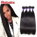 "Raw Indian Hair Grade 7A Indian Virgin Hair Straight 4 Bundle Deals Human Hair Extensions Indian Straight Hair 10""-30"" Stock"