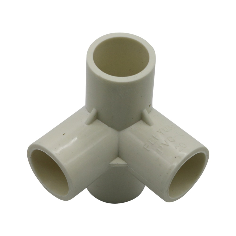 20Mm//25Mm//32Mm Diameter Pvc Water Pipe Tube Adapter Connector JD