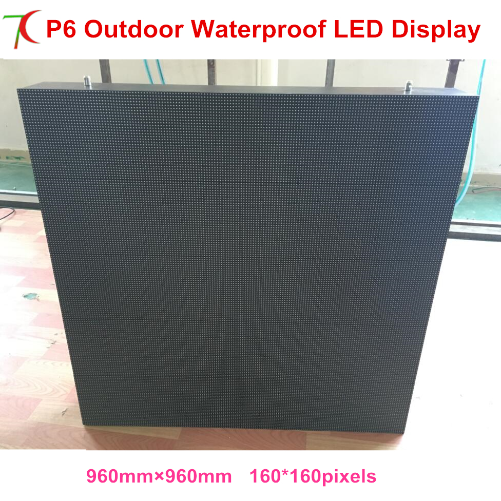 P6 960*960mm with asynchronous control card for outdoor waterproof screen with mini outdoor advertisement ,shopping signsP6 960*960mm with asynchronous control card for outdoor waterproof screen with mini outdoor advertisement ,shopping signs