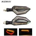 Универсальные мотоциклетные световые указатели поворота янтарные светодиодные фонари для Honda VFR NC 700 750 800 1200 F VFR750 VFR800 VFR1200