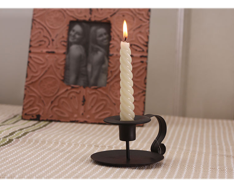 Vintage European Style Candlestick Holder