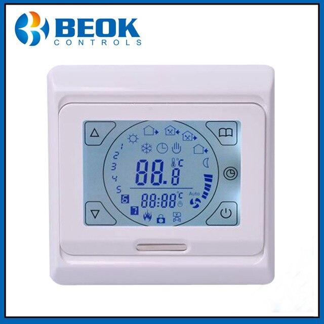 Beok TST70 EP 16A Touchscreen Thermostat Wöchentliche ...