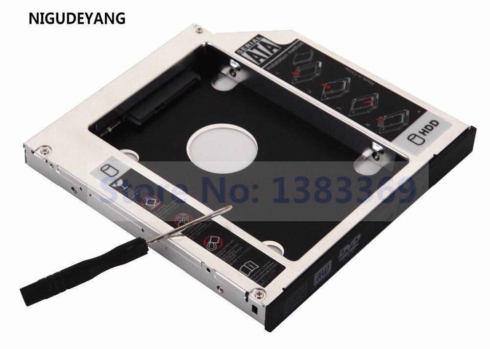 DY-tech 2nd HDD SSD Hard Drive Caddy Adapter for Asus N76 N76V N76VJ N76VM N76VZ Series