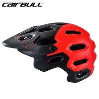 Cairbull 사이클링 헬멧 통기성 25 에어 벤트 자전거 타기 헬멧 헤드 보호 일체형 mtb 도로 자전거 헬멧
