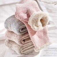 Free Shipping 2017 Women S Winter Cotton Warm Socks Thermal Thicken Winter Socks Towel 2 Pairs