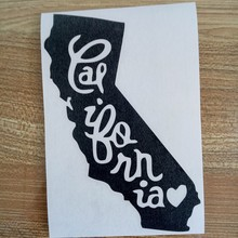 For California Car Truck Sticker Decals Art Painting Wall Stickers Vinyl