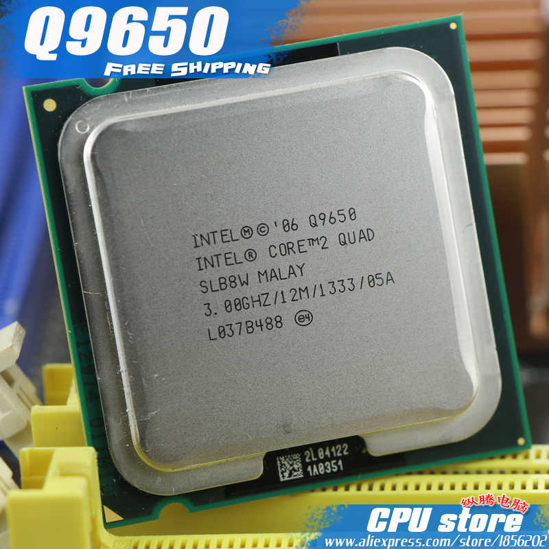 Marvelous Intel Core 2 Quad Q9650 Cpu Processor 3 0Ghz 12M 1333Ghz Unemploymentrelief Wooden Chair Designs For Living Room Unemploymentrelieforg