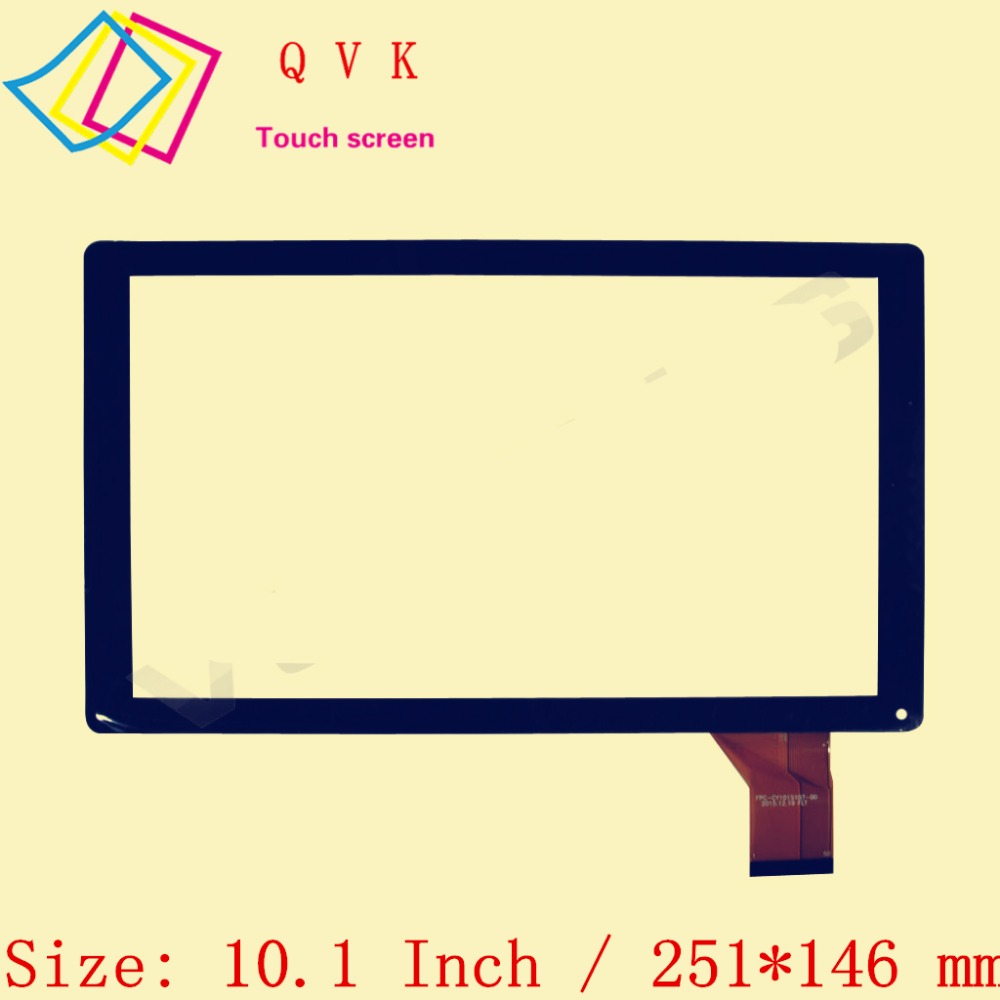 10.1 Inch For GOCLEVER QUANTUM 1010N \ RS-MX101-V3.0 \ YTG-C10045-F1 \ YJ144FPC-V1 \ XC-PG1010-016-A1-FPC TOUCH SCREEN FM103301K a xc pg1010 084 fpc a0 xc pg1010 084 fpc a0 hxs 10 1 inch touch screen touch panel digitizer sensor replacement for mid