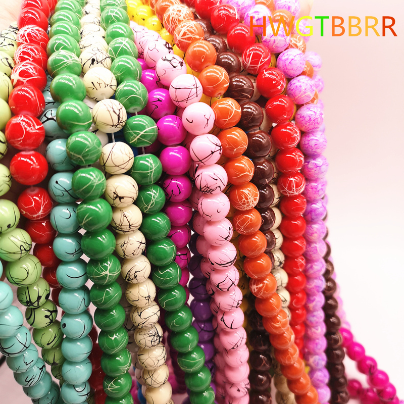 100% Quality Exquisite 12 Mix Color Candy Color Acrylic Rubber Beads Neon Matte Round Spacer Loose Beads For Diy Jewelry Handmade Jewelry & Accessories
