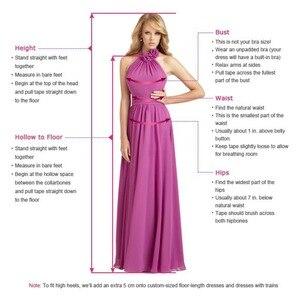 Image 5 - Vestido דה Noiva 2 ב 1 ארוך שרוולי חתונת שמלות אשליה חזור תחרת אפליקציות כלה שמלת כדור שמלת הכלה RW03