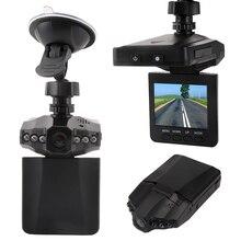 видеорегистратор Dashcam 2.5 дюймов Видеорегистраторы для автомобилей Камера с 6 светодиодный огни авто Камера видео Регистраторы регистраторы обнаружения движения Ночное видение