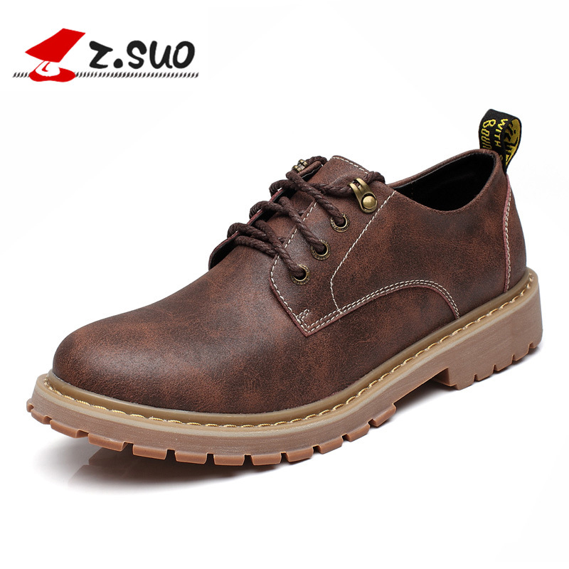 ZSUO Autumn Winter Men's Casual Leather Shoes With Fur Winter Warm Outdoor Shoes Men Lace-up Flat Shoes Footwear Zapatos Hombre genuine leather men casual shoes wool fur warm winter shoes for men flat lace up casual shoes men s flat with shoes fashion