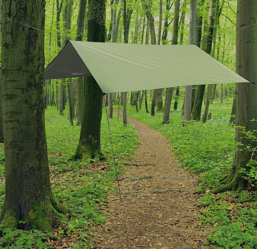 3 m *3 m lightweight waterproof ripstop outer cover shelter tent tarpaulin tent hammock camping out door tourismtent accessory