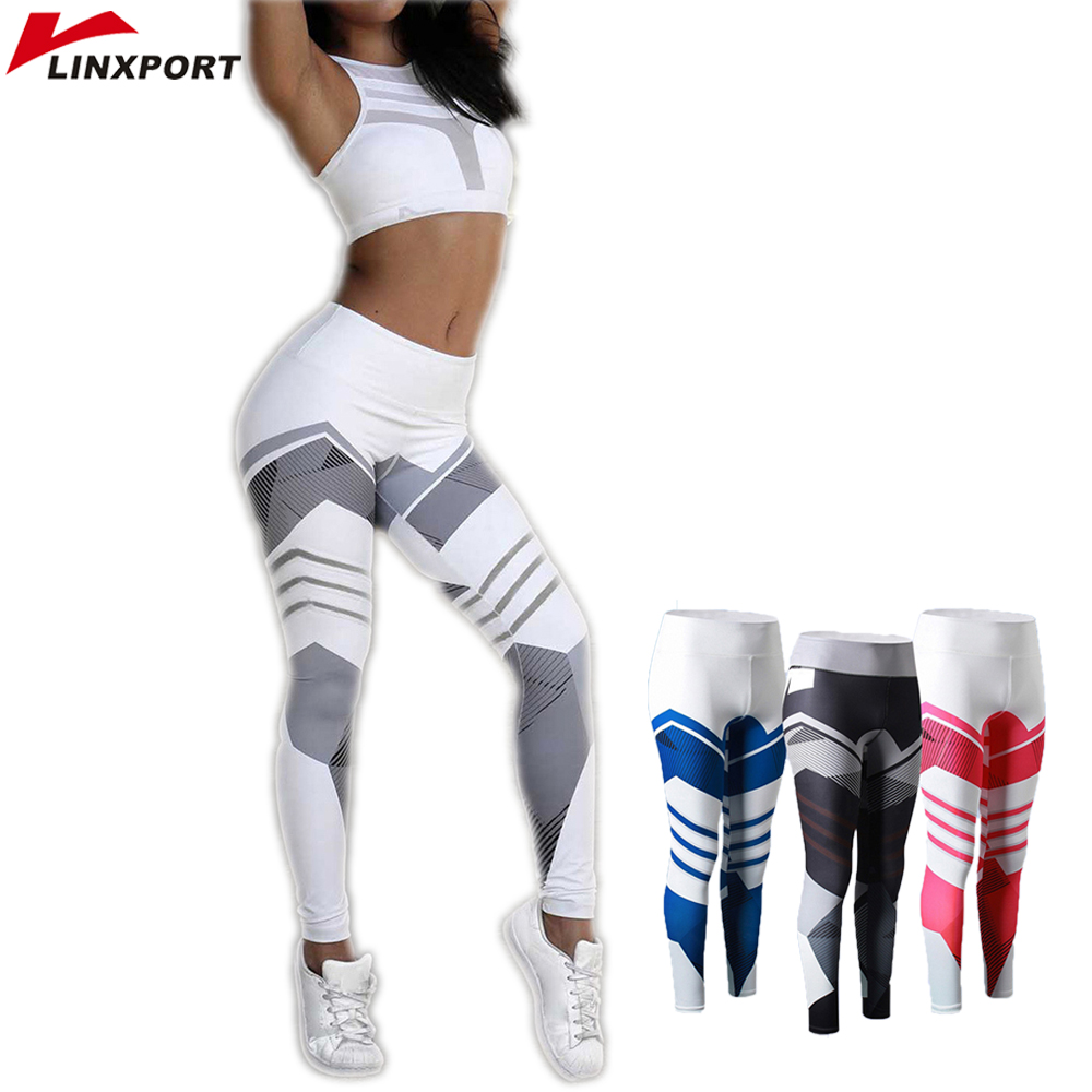 Pants Stretch-Trouser Capris Fitness-Leggings Jogging-Clothing Sports Tights Exercise