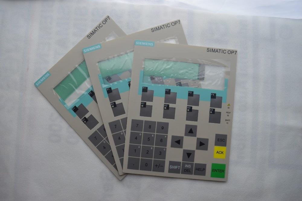 Membrane keyboard for 6AV3607-5AA00-0AC0 OP7/PP, 6AV3607-5AA00-0AC0 hmi keypad ,simatic HMI keypad , IN STOCK 6av3607 5bb00 0al0 for simatic hmi op7 keypad 6av3 607 5bb00 0al0 membrane switch simatic hmi keypad in stock