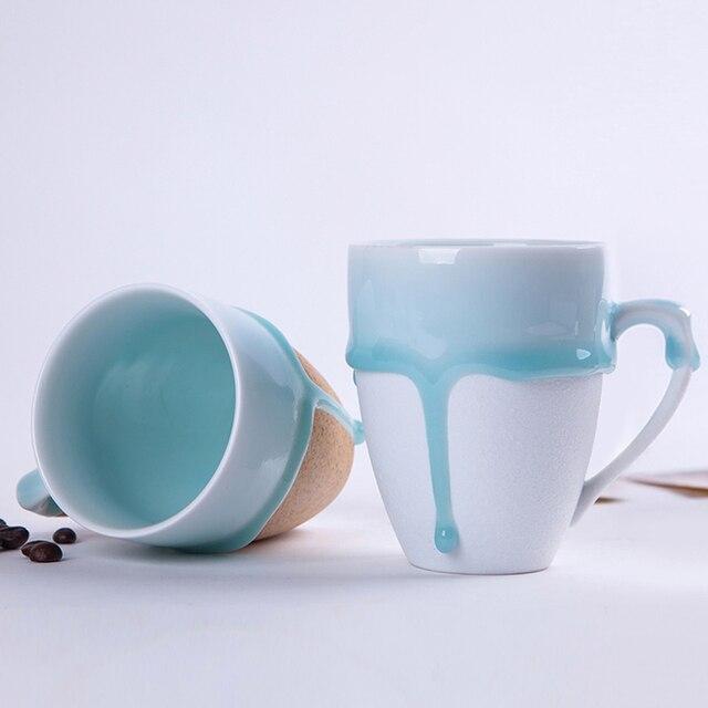 Tassen Design jingdezhen keramik becher kaffeetasse liebhaber design glasur tasse