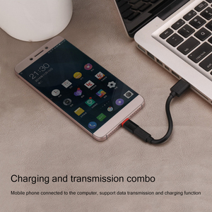 Image 2 - Type C إلى المصغّر USB محول USB C نقل البيانات محول ل شاومي 6/6x/8/mix2s هواوي p9/nova2s