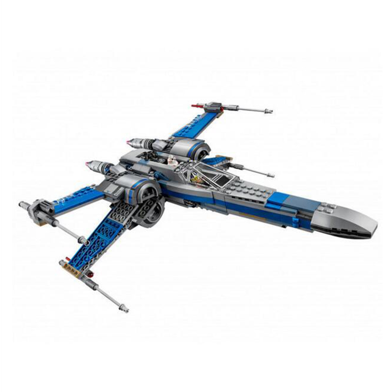 05029 First Order Star Wars Poes X-wing Fighter building blocks X wing Minifigures Toys For Children m409