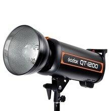 цена на Godox QT-1200 1200W Fast Duration Flash Lighting Lamp Studio Strobe Head 1/5000s AC200-240V/50HZ Photography Lamp