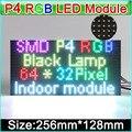 2016 НОВЫЙ RGB P4 модуль LED дисплеи, SMD 3 в 1 RGB P4 Крытый полноцветные светодиодные панели, 256 мм * 128 мм 64*32 точек,