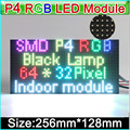 2016 NEW RGB P4  LED displays module, SMD 3 in 1 RGB P4 Indoor full color led panel, 256mm*128mm 64*32dots,