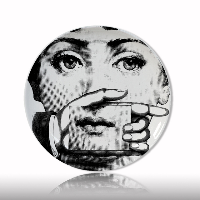 Wholesale fornasetti plate Nordic style home/bar/restaurant/s&le room decorative dish Milan  sc 1 st  AliExpress.com & Wholesale fornasetti plate Nordic style home/bar/restaurant/sample ...