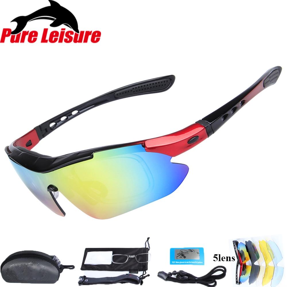 8d580a175c PureLeisure 1 Set 5 Lens Fly Fishing Polar Glasses Clip On Sunglasses Polaryte  HD Polarisantes Peche