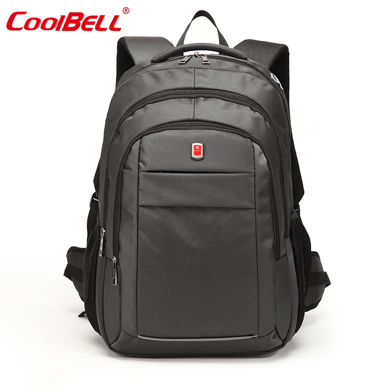 Waterproof Nylon Men Laptop Bag 15 17 Inch Computer Backpack Bag Women Business Notebook Backpack Travel Big Capacity Bag D0284