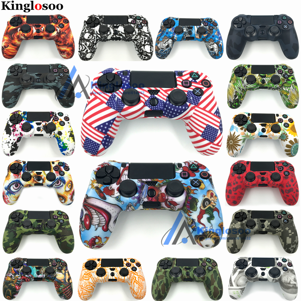Wholesale Customize Special Soft Gel Silicone sleeve Rubber Cover Skin Case for Playstation 4 Pro PS4