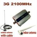 1 Компл. ЖК Семьи UMTS WCDMA 3 Г 2100 МГц 2100 МГц мобильный Телефон Усилитель Сигнала Повторитель Сотовый Телефон Усилитель с Антенной + 10 М кабель