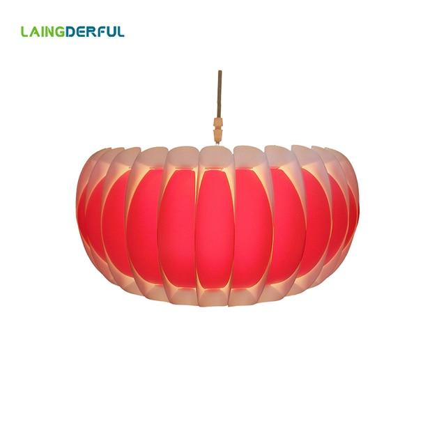 4 Colors Art Deco Lamp Shade Plastic Light Drum Lampshades For Home Pendant Lights Restaurants Bar Decoration Lighting