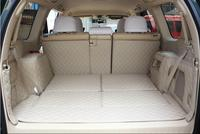 High quality Special car trunk mats for Toyota Land Cruiser Prado 150 7seats 2017 2010 boot carpets cargo liner mat styling