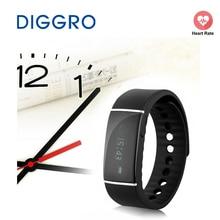 Diggro OLED S55 Smart Браслет Шагомер отслеживания калорий здоровья браслет сигнализации Sleep Monitor напоминание для androis IOS