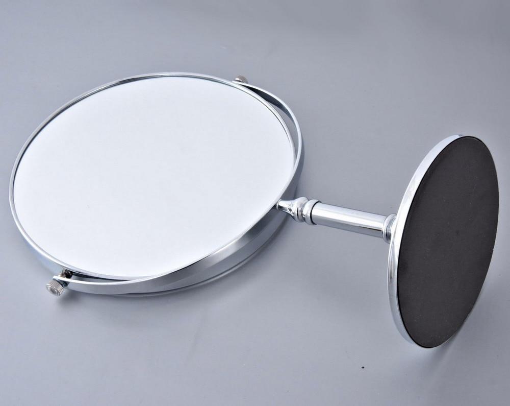 Полированный Хром Ванная Бритье Красота Макияж Увеличение Зеркало Двойной Боковой Отдельно стоящий% 2FCheval +% 2F Ванная Аксессуар mba639