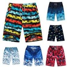 MoneRffi мужские Купальники быстросохнущие короткие брюки 4XL летние унисекс для серфинга спортивные пляжные шорты свободные хлопковые брюки размера плюс