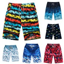 MoneRffi Heren Badmode Sneldrogende Korte Broek 4XL Zomer Unisex Surf Sport Strand Board Trunks Losse Katoenen Plus Size Broek broek(China)