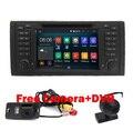 7 дюймов 1024x600 HD С Сенсорным Экраном 2 din Android 5.1 Автомобильный DVD Радио стерео для BMW E39 E53 X5 Wifi 3 Г Bluetooth DVR RDS USB IPOD