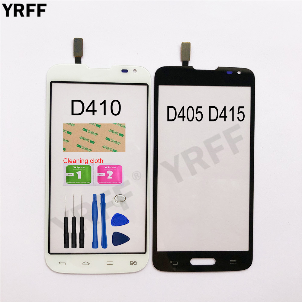 4.7'' Touch For LG L90 D405 D415 L90 Dual D410 Touch Screen Digitizer Sensor Touch Glass Lens Panel Replacement