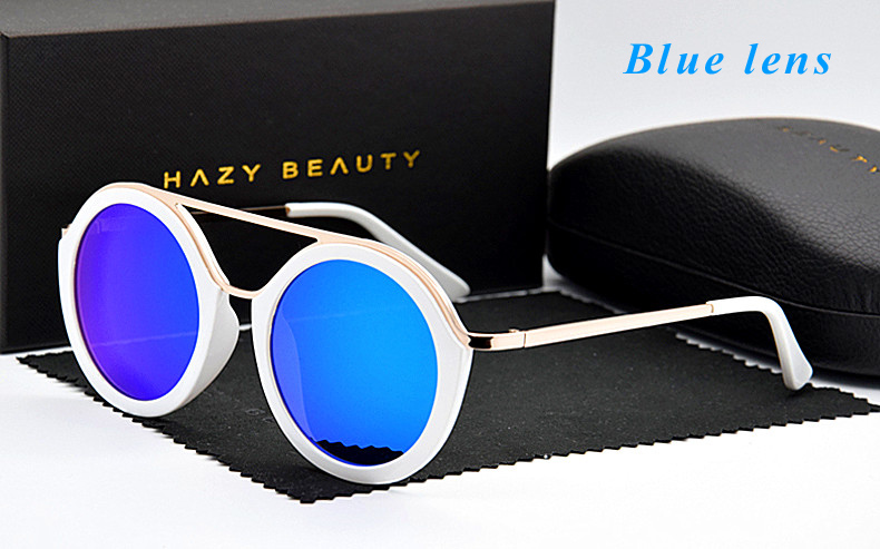 Männer 2018 silver Beschichtet Sonnenbrille Lens Lens Sunglass Grey De Mode Lens Frame black blue Oculos Frauen Objektiv Großen Sol Uv400 Persönlichkeit Runde Rahmen purple Vintage Lens SfX0qYSwr