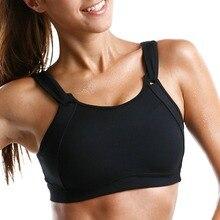 Frauen High Impact Full Coverage Draht Freies Nicht Gepolsterte Run Sport Bh